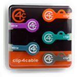 Magnetische Kabelhalter – clip4cable – Magnetic Clip & Band