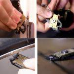 20 in 1 Multitool Karabiner Schlüsselanhänger