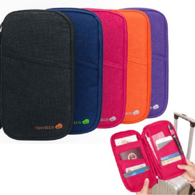 Passtasche / Hülle für Reisepass und Dokumente, Travel Wallet, Reise Dokumententasche