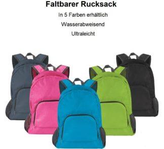 Rucksack faltbar
