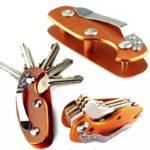 Leichter Aluminium Schlüssel Organizer Clip, Key Organizer