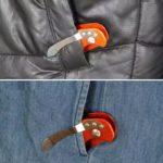Leichter Aluminium Schlüssel Organizer Clip, Key Organizer in Schwarz, Grün oder Orange
