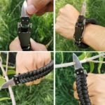 Paracord Armband Mini Messer, Taschenmesser, Outdoor, EDC