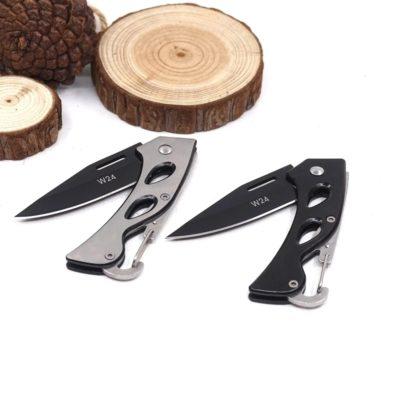 Karabiner Taschenmesser Camping Messer Klappmesser kompakt & leicht