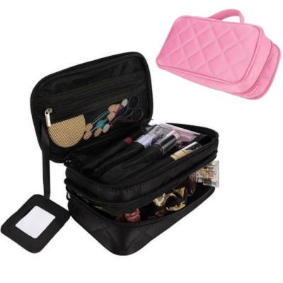 Make-Up Tasche – Hochwertige Kosmetiktasche, Reise Kosmetikbeutel